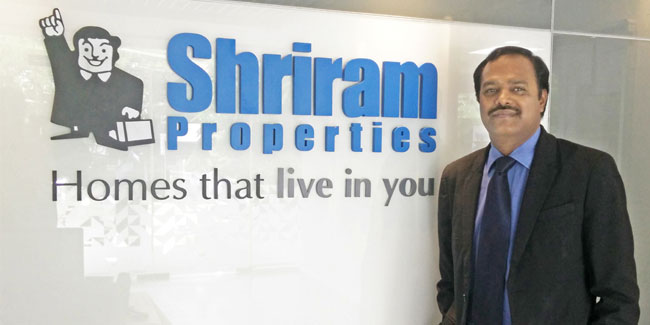 M Murali, Managing Director, Shriram Properties