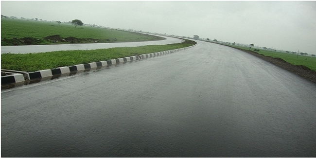 Four laning of Indore to Gujarat / MP Border Section