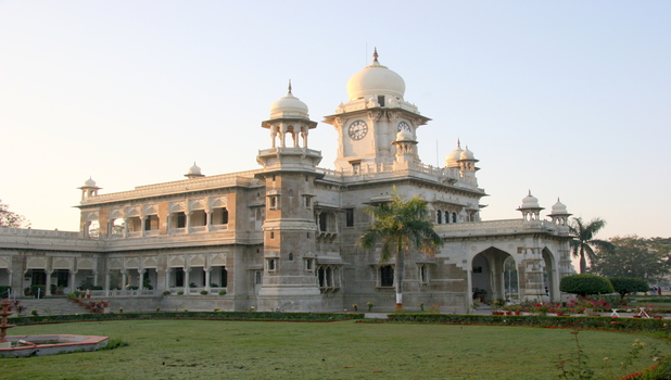 Riverfront development works in Indore