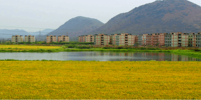 Economic township project at Jakkampudi