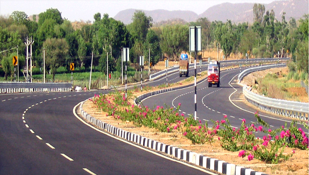 Four laning of Jabalpur to Lakhnadon section