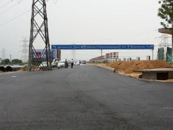 Dwarka Expressway project