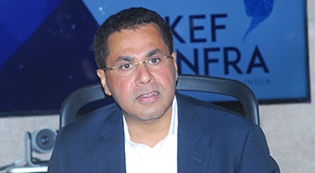 Faizal E Kottikollon, Founder and Chairman of KEF Infra and KEF Holdings