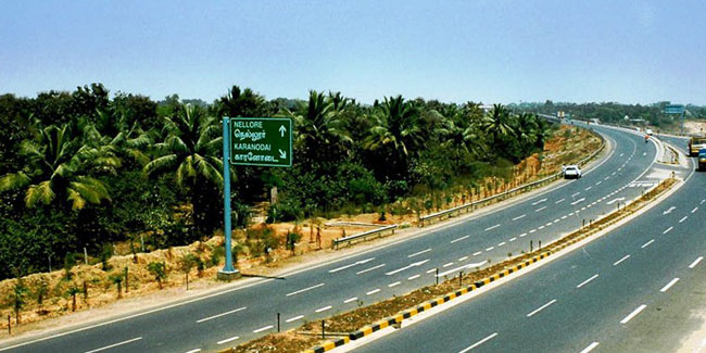 Six laning of Chennai-Tada section
