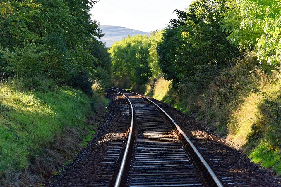 Railway line from Bahraich to Khalilabad