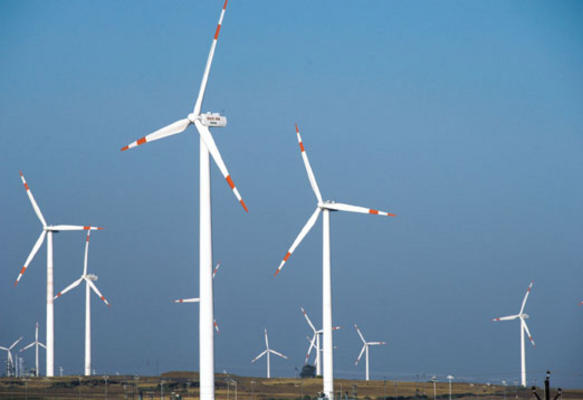 Wind-Solar hybrid power project for Kudgi