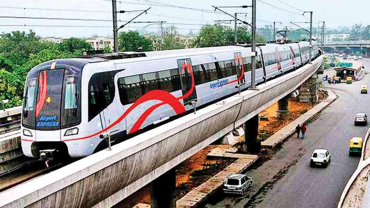 Noida-Greater Noida Metro rail corridor