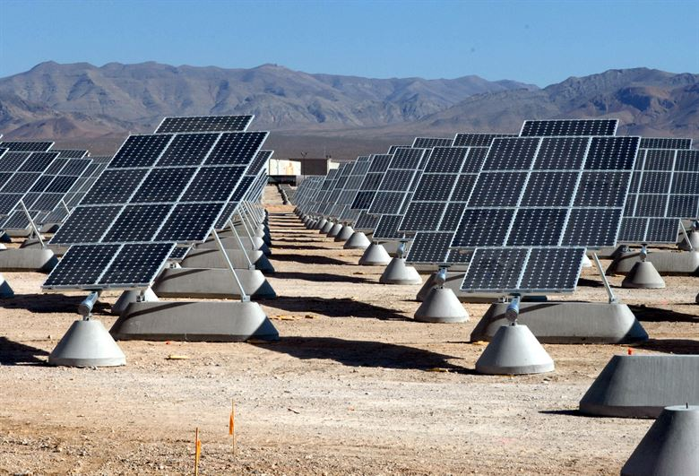 Solar plants in rural areas