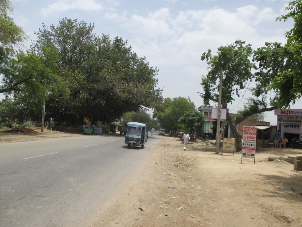 Four laning of punjab/haryana border-jind section