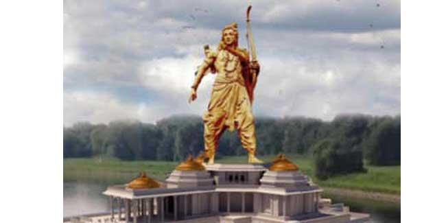 Lord Ram Statue in Ayodhya