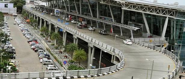 Multi-level car parking facility at Chennai airport