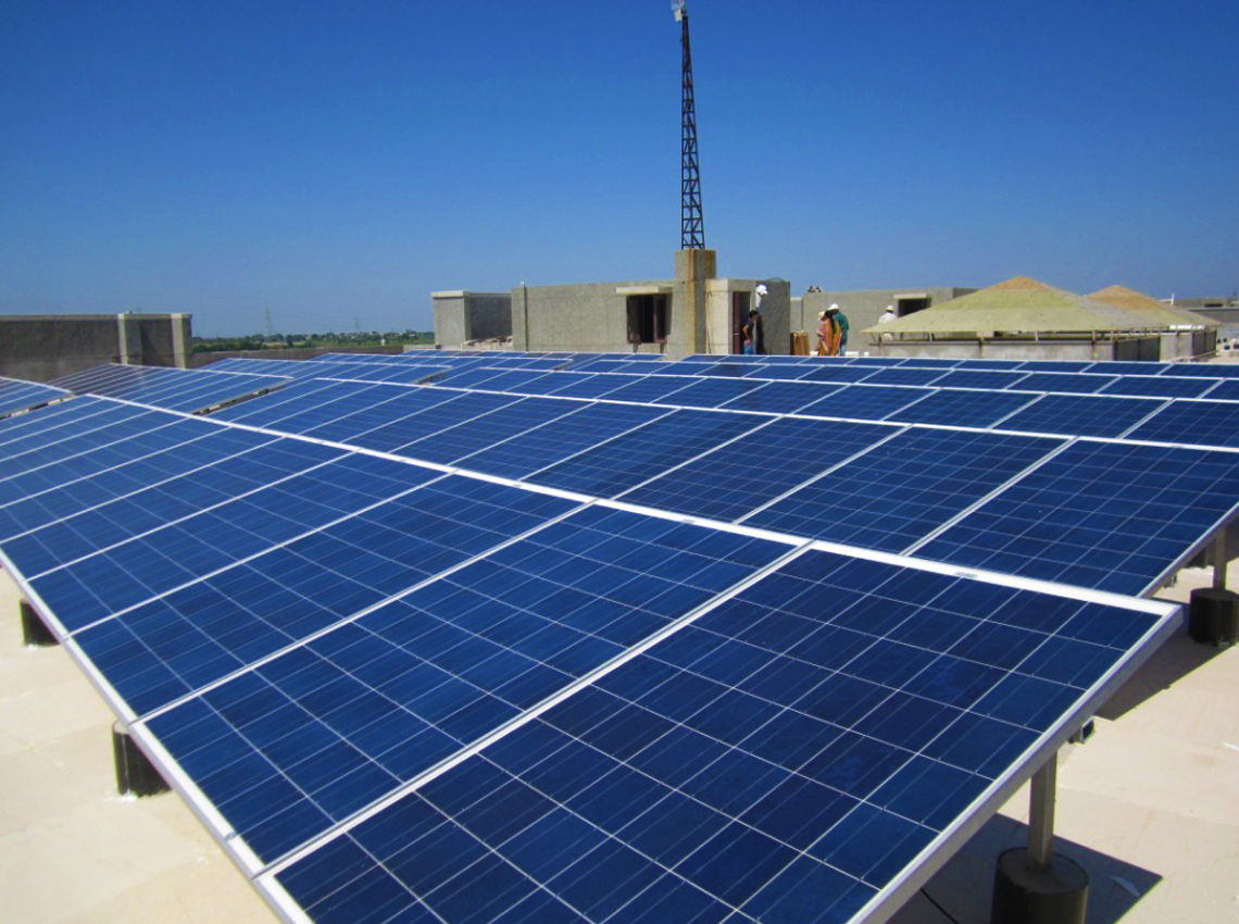 97.5MWp Grid Connected Rooftop Solar PV System