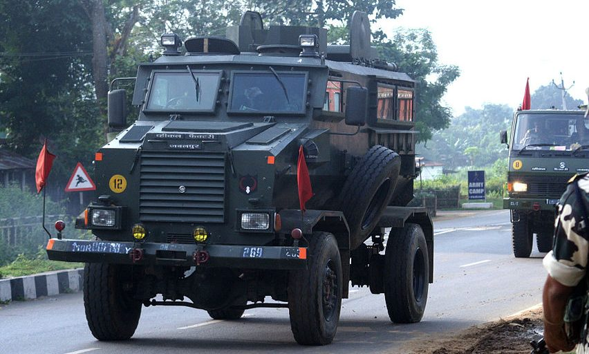 Mine-protected vehicles for paramilitary forces