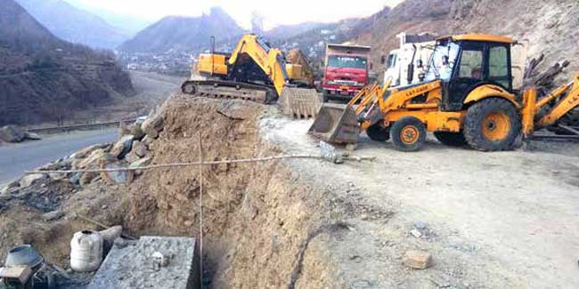 Four Laning of Ramban - Banihal Section