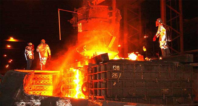 Focus   Iron and Steel Sector   Booster Needed