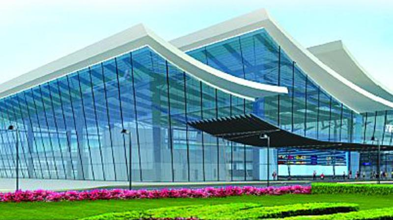Solar installation at Tirupati airport