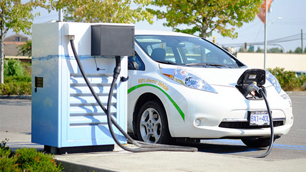 E-vehicle charging infra in cities
