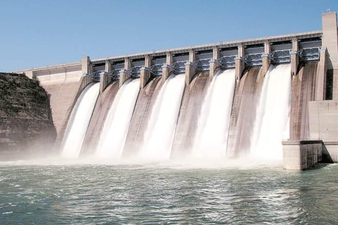 Dam across Godavari river
