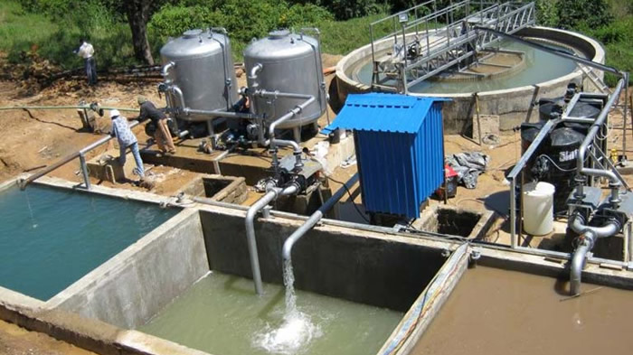40 KLD Effluent Treatment Plant at Kasaragod