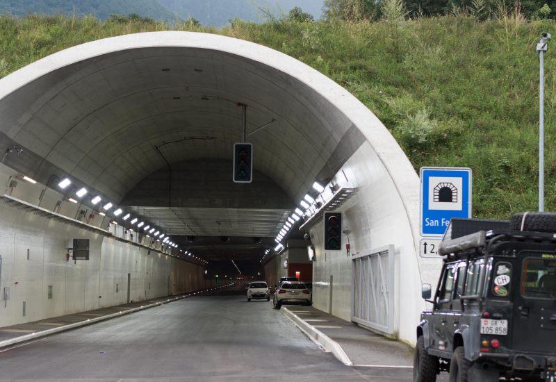 Zojila tunnel project