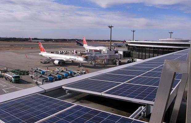 Solar PV plant at Begumpet airport