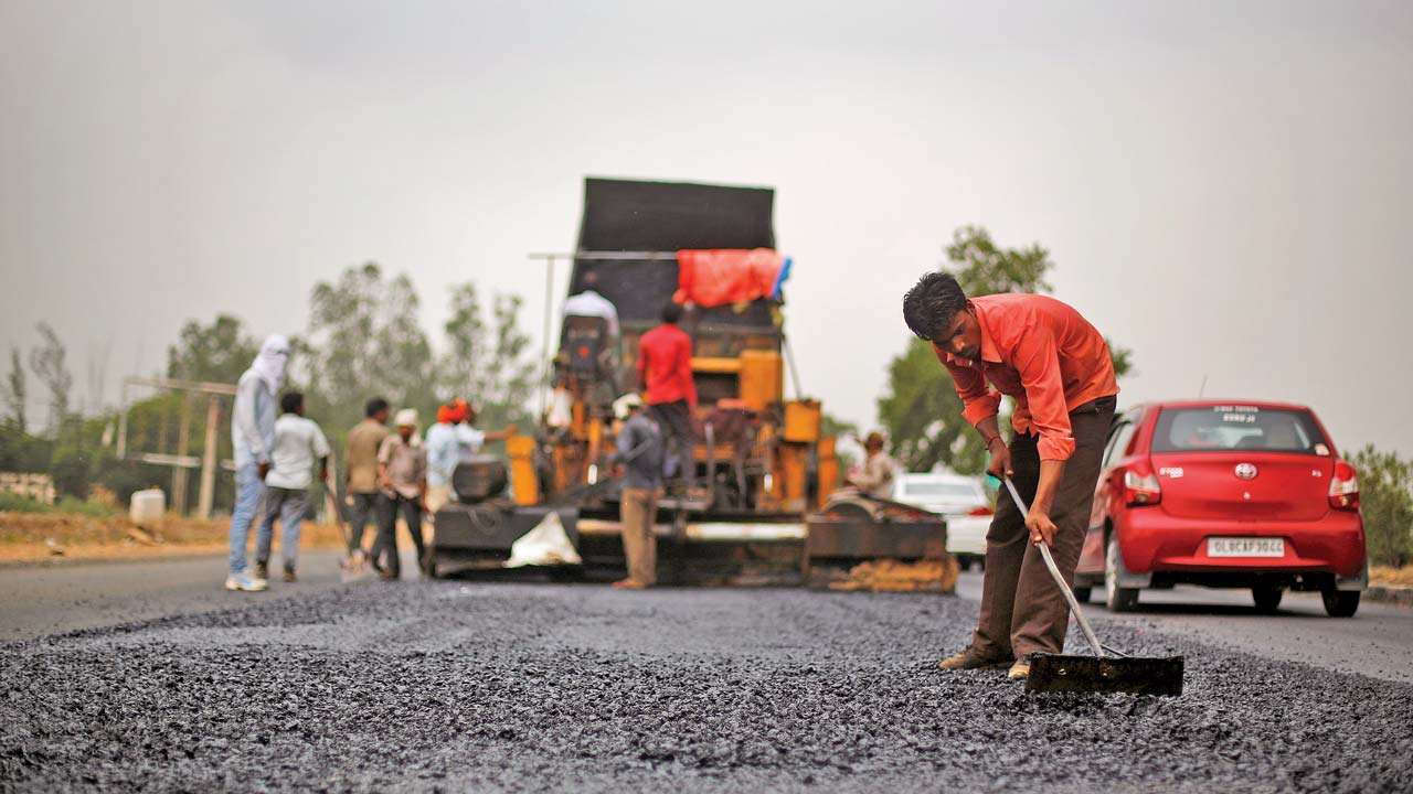 Four laning of NH-363 from Mancherial - Repallewada section