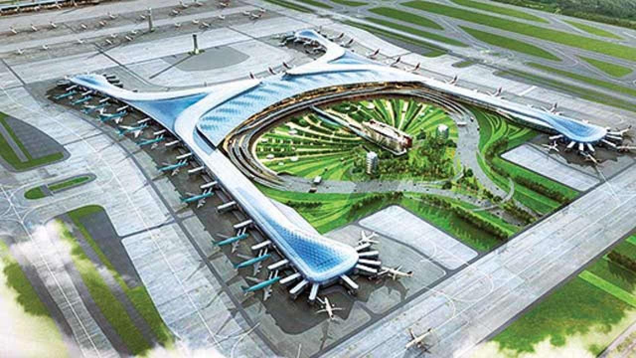 Jewar airport project