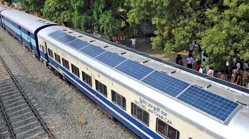 32.56 MW of rooftop solar photovoltaic (PV) systems at various railway establishments