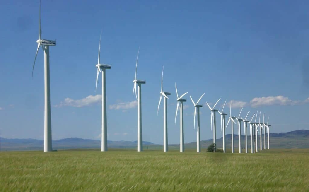 Wind power project at Anjar