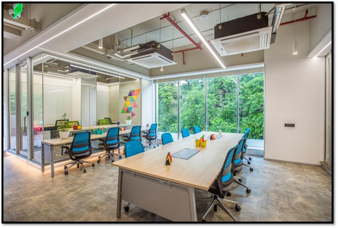 Co-working space in Greater Kailash