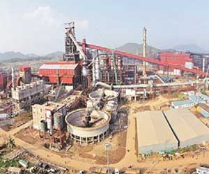 Integrated steel plant (isp) at bayyaram