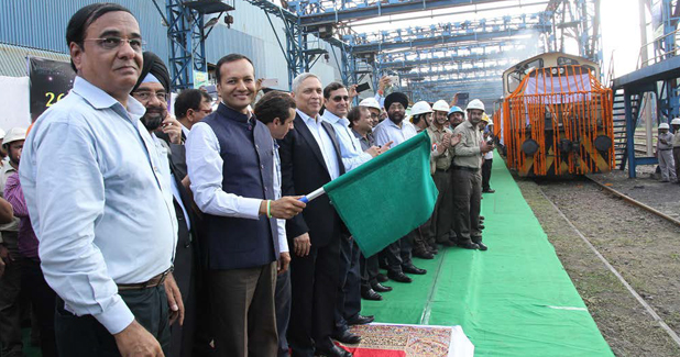 JSPL Flags Off India's Longest Rail