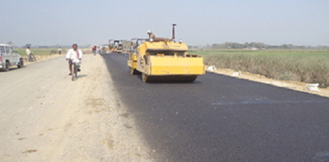 Two laning of Motihari - Raxaul Section
