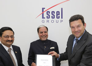 Essel Group Inks Technology Transfer Pact with Three German Firms for Smart cities and Green Energy Projects in India